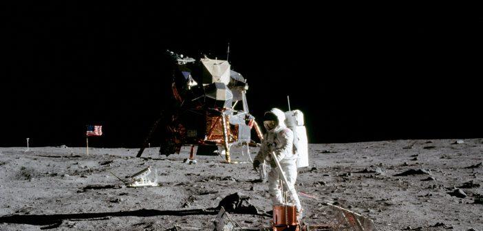 La luna, 50 anni fa, in tempo reale